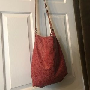 Midi Queen wrinkle red leather tote purse 30c3489230